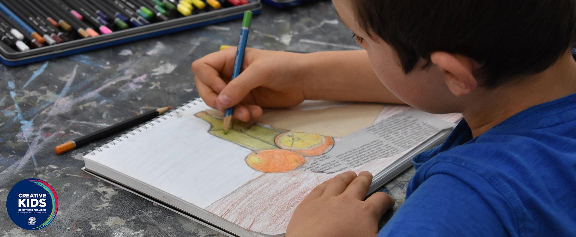 Wednesday Drawing School Term 2 2021