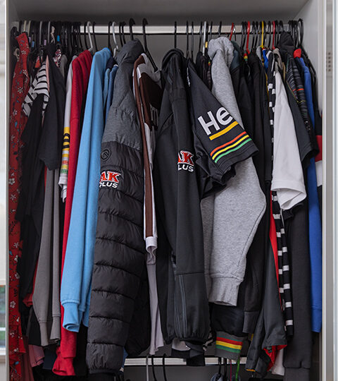 Paul's Closet, Where Panther wear is always arranged in correct, set order