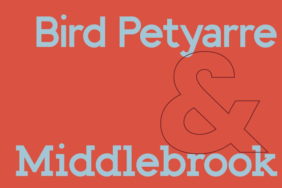 Bird Petyarre & Middlebrook