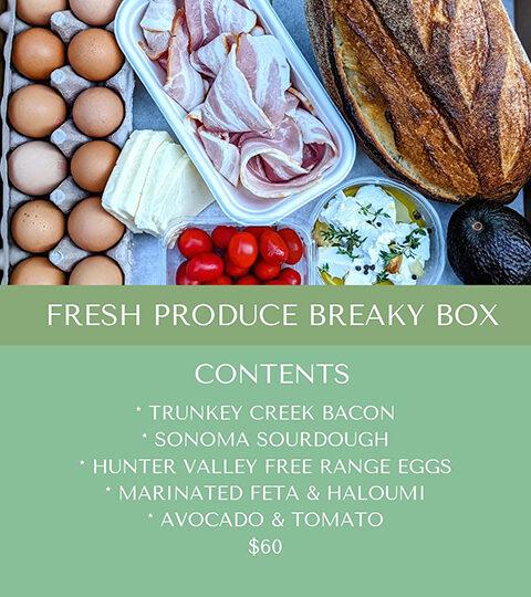 Fresh Produce Breaky Box